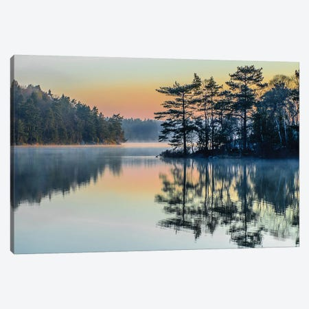 Before People Wake Canvas Print #OXM1228} by Benny Pettersson Canvas Artwork