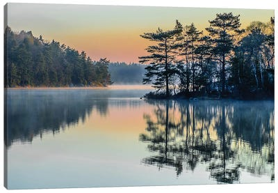 Before People Wake Canvas Print #OXM1228