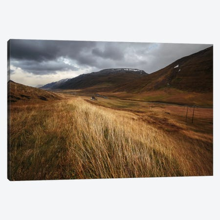 Autumnal Canvas Print #OXM1241} by Bragi Ingibergsson Canvas Wall Art