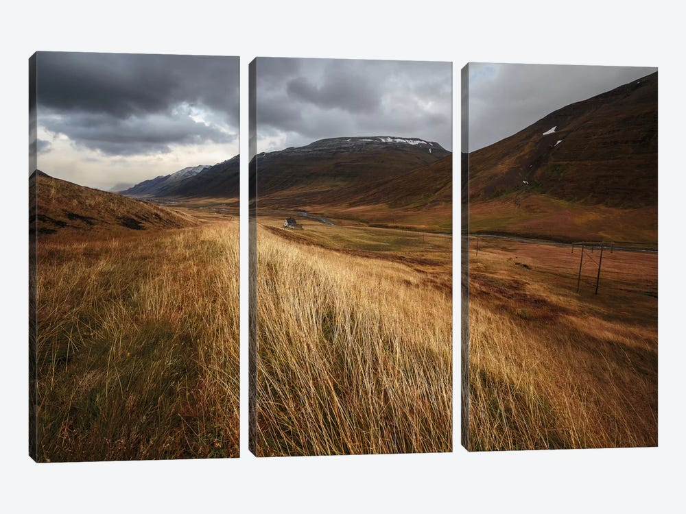 Autumnal by Bragi Ingibergsson 3-piece Art Print