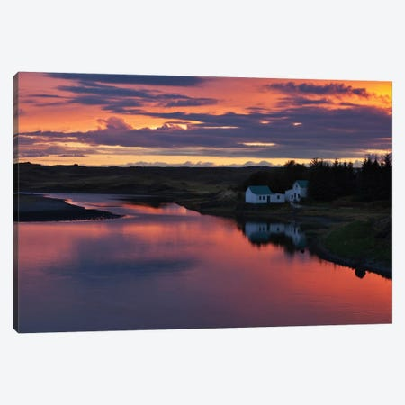 White River Canvas Print #OXM1249} by Bragi Ingibergsson Canvas Art