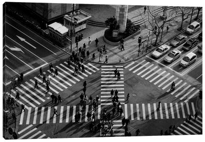 Intersection (Crossing Alternatives) Canvas Art Print