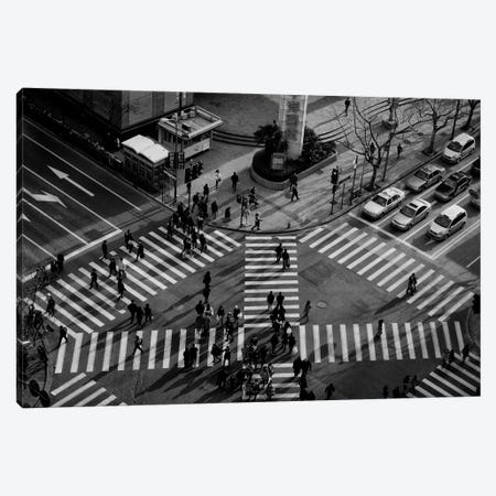 Intersection (Crossing Alternatives) 3-Piece Canvas #OXM1255} by C.S.Tjandra Canvas Wall Art