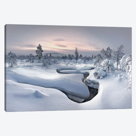 Kiilopää Fell Center, Lapland, Finland Canvas Print #OXM1270} by Christian Schweiger Canvas Print