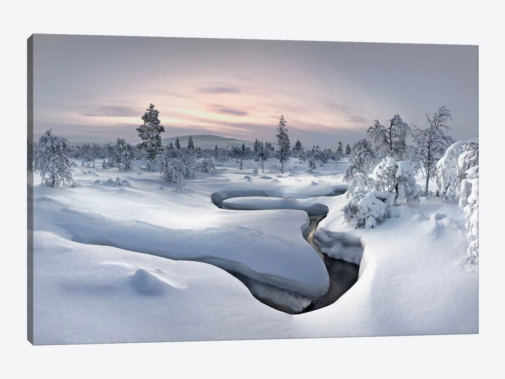 Kiilopää Fell Center, Lapland, Finland by Christian Schweiger 1-piece Art Print