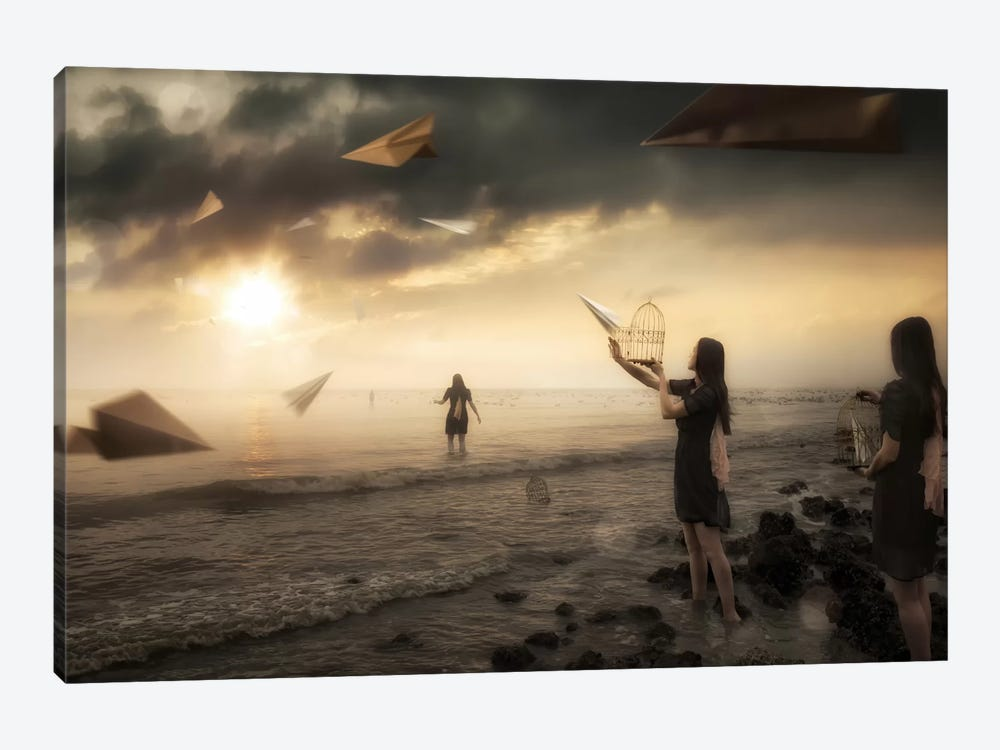 Released by Christophe Kiciak 1-piece Canvas Wall Art