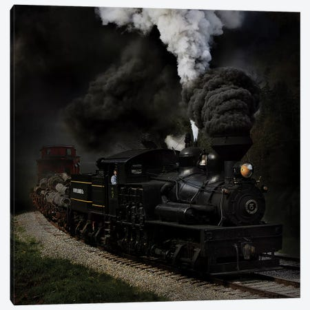 Blow That Whistle Canvas Print #OXM1276} by Chuck Gordon Canvas Art