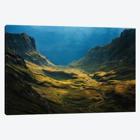 Bucegi Mountains, Romania Canvas Print #OXM1280} by Cristian Lee Canvas Wall Art
