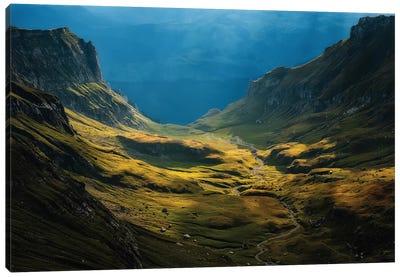 Bucegi Mountains, Romania Canvas Print #OXM1280