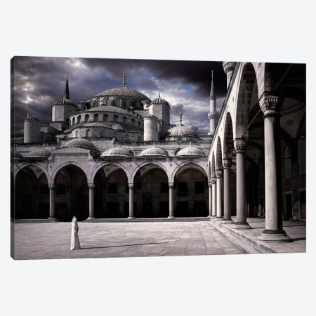 Lady And The Mosque Canvas Print #OXM1289} by Daniel Murphy Canvas Wall Art