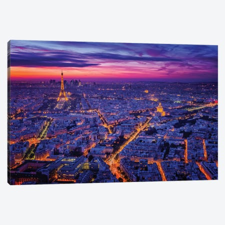 Paris I Canvas Print #OXM128} by Juan Pablo de Miguel Art Print