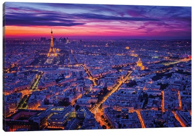 Paris I Canvas Art Print