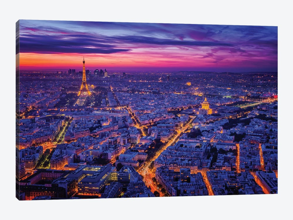 Paris I by Juan Pablo de Miguel 1-piece Canvas Wall Art