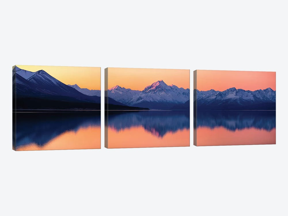 Mount Cook, New Zealand by Daniel Murphy 3-piece Art Print