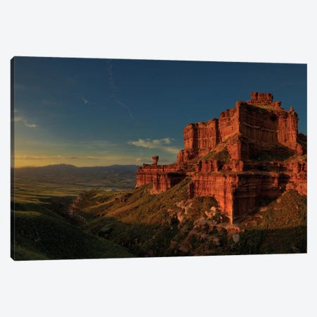 Small Canyon Canvas Print #OXM1301} by David Martín Castán Canvas Print