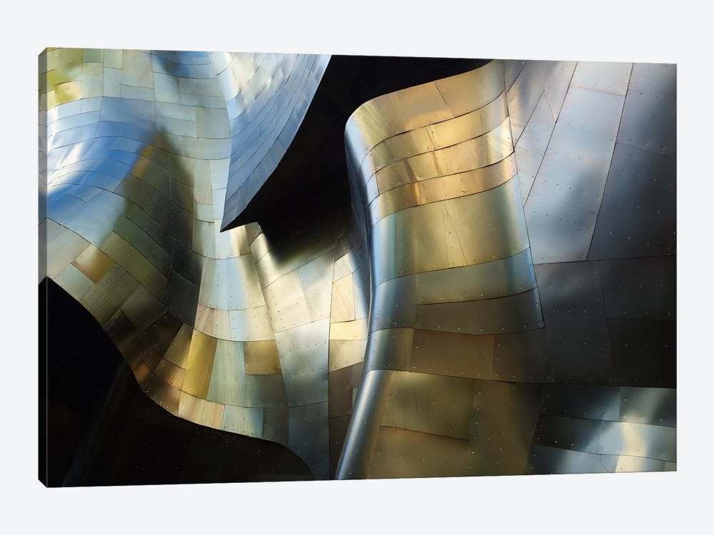 Organic Metal III by David Reams 1-piece Canvas Artwork