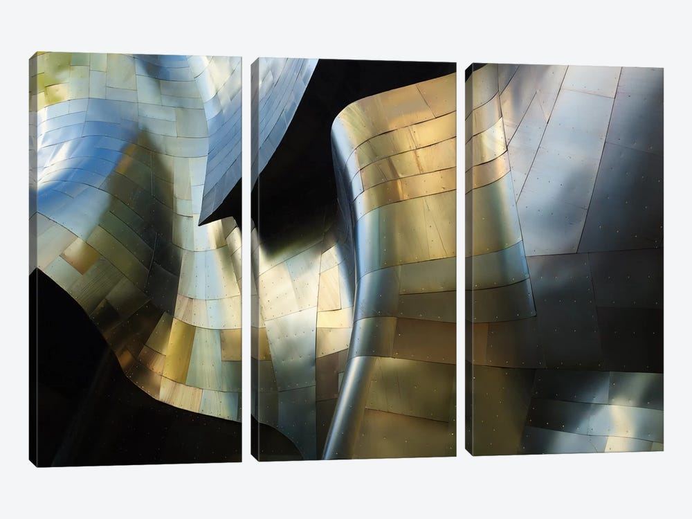 Organic Metal III by David Reams 3-piece Canvas Artwork