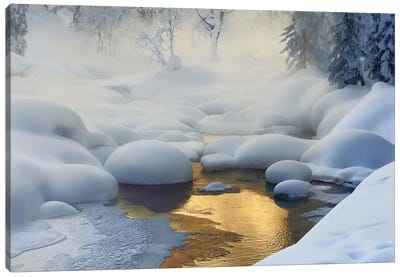 Siberia, -37°C (-35°F) Canvas Art Print