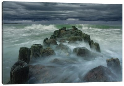 Breakwater Canvas Art Print