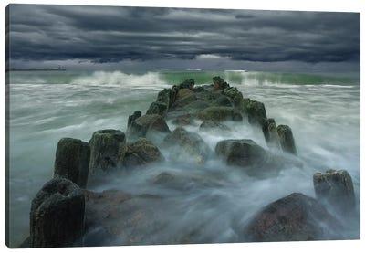 Breakwater Canvas Art Print