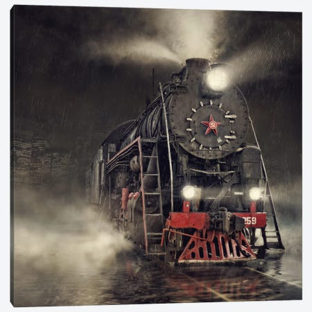 Beyond Express Canvas Print #OXM1324} by Dmitry Laudin Canvas Wall Art