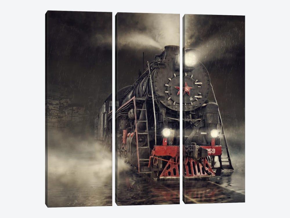 Beyond Express by Dmitry Laudin 3-piece Art Print