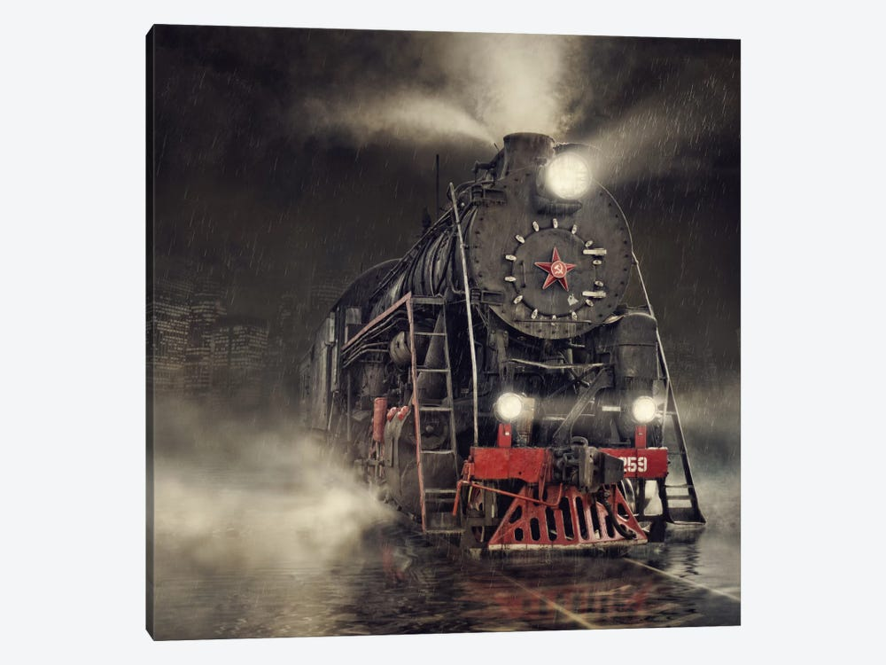 Beyond Express by Dmitry Laudin 1-piece Art Print