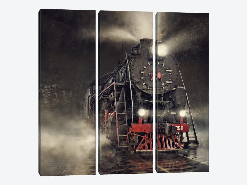 Beyond Express by Dmitry Laudin 3-piece Art Print