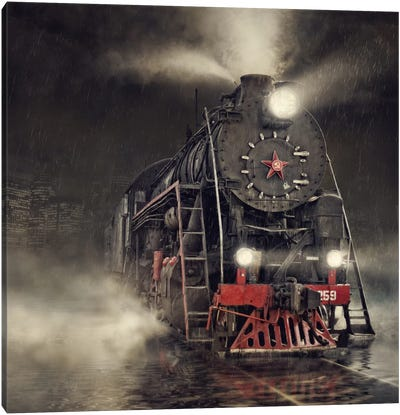 Beyond Express Canvas Art Print