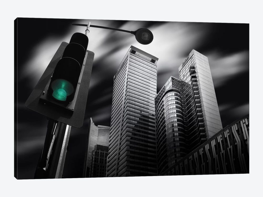 Makati Prologue by Dr. Akira Takaue 1-piece Canvas Print