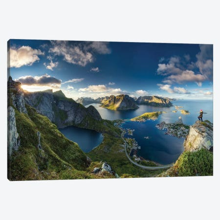 Reinebringen Views Canvas Print #OXM1338} by Dr. Nicholas Roemmelt Canvas Artwork