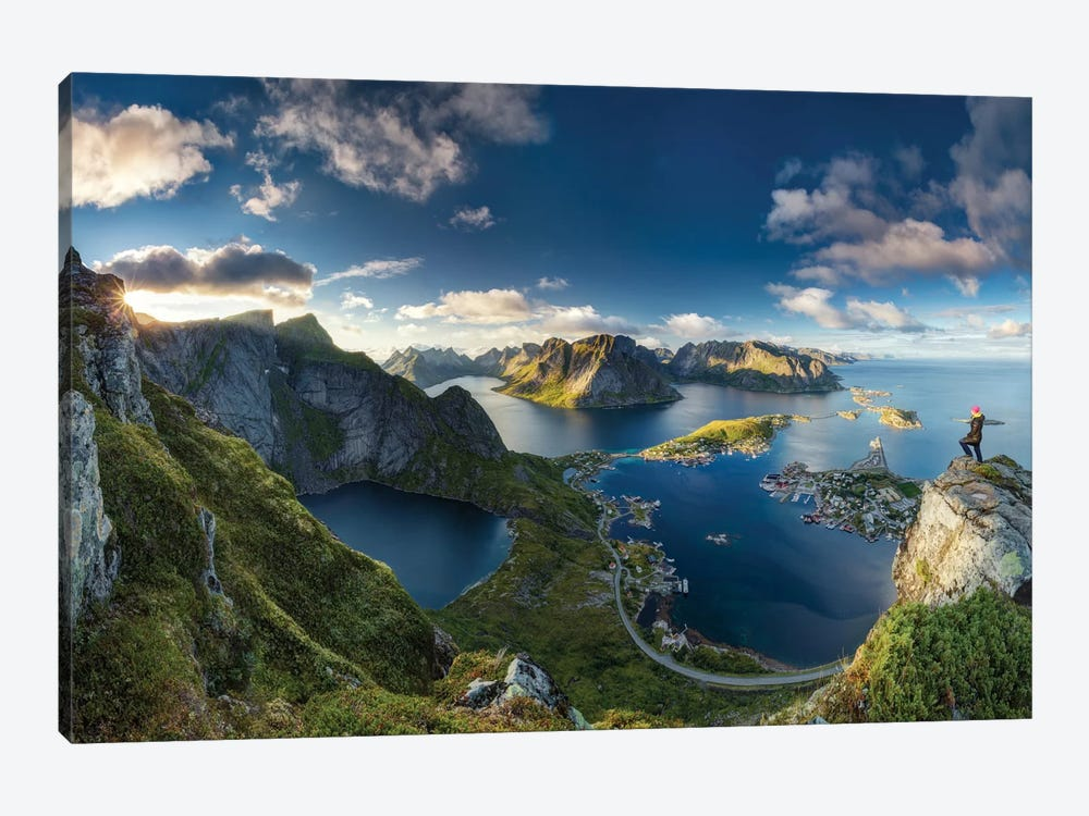 Reinebringen Views by Dr. Nicholas Roemmelt 1-piece Canvas Artwork