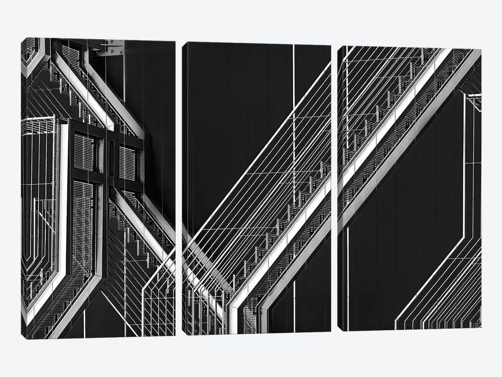 Moving Still by Paulo Abrantes 3-piece Canvas Artwork