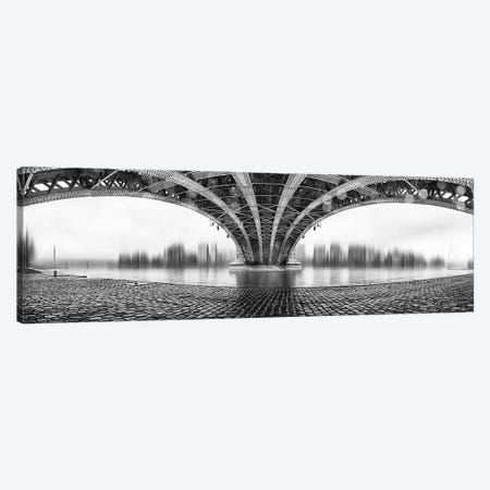 Under The Iron Bridge Canvas Print #OXM1348} by Em-Photographies Art Print