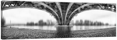 Under The Iron Bridge Canvas Print #OXM1348