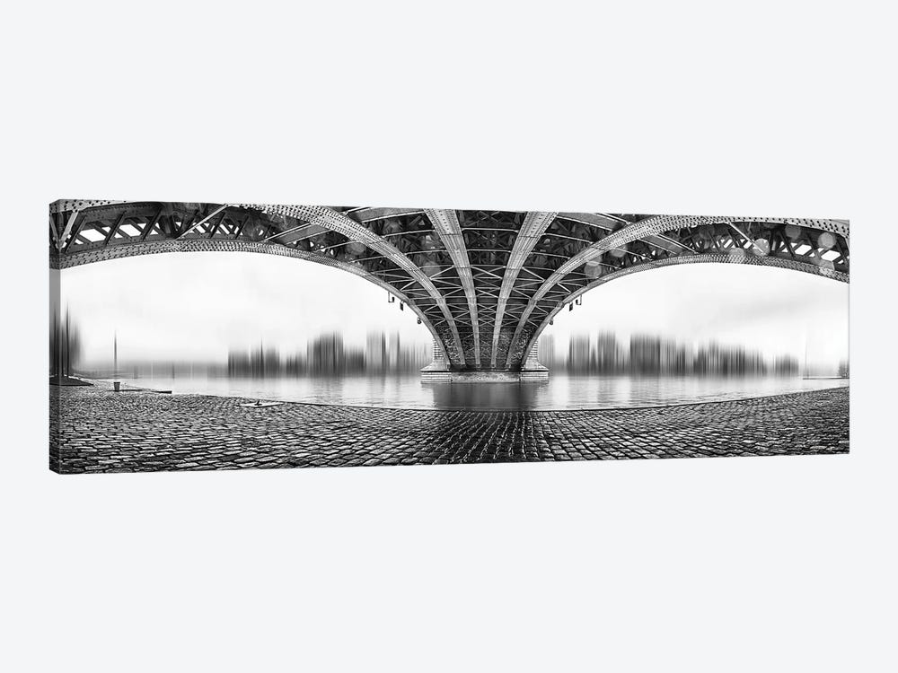 Under The Iron Bridge by Em-Photographies 1-piece Canvas Print