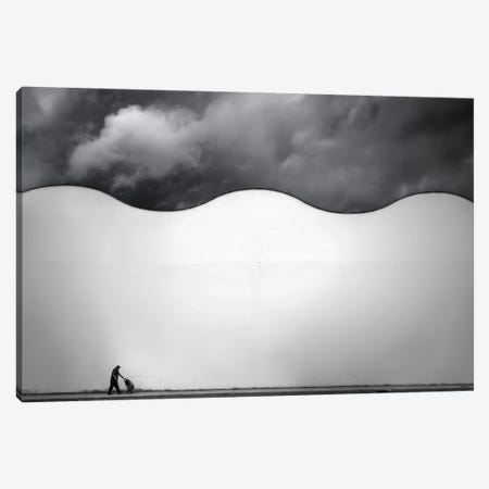 City Waves II 3-Piece Canvas #OXM137} by Andres Gamiz Canvas Art Print