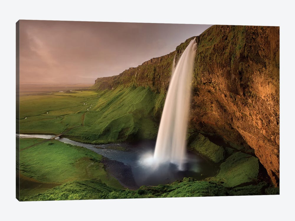 Seljalandsfoss by Franz Schumacher 1-piece Canvas Wall Art