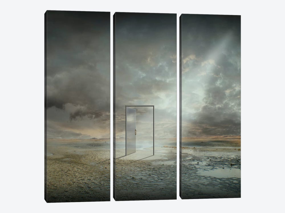 Behind The Reality by Franziskus Pfleghart 3-piece Canvas Wall Art