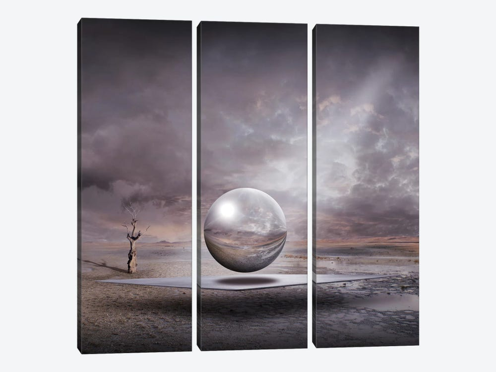 Genesis by Franziskus Pfleghart 3-piece Canvas Art Print