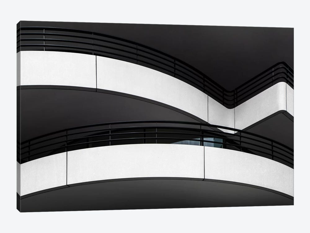 Balcony Lines by Gilbert Claes 1-piece Canvas Artwork