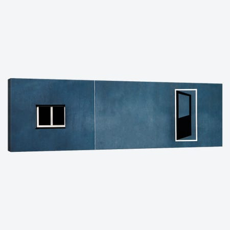Open Door... No Access Canvas Print #OXM1419} by Gilbert Claes Canvas Print
