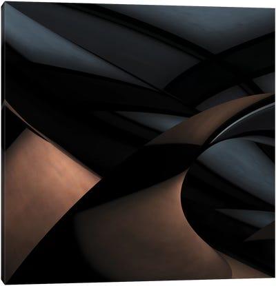 Silver Gold Canvas Art Print