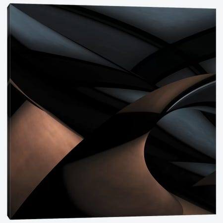 Silver Gold Canvas Print #OXM1421} by Gilbert Claes Canvas Art