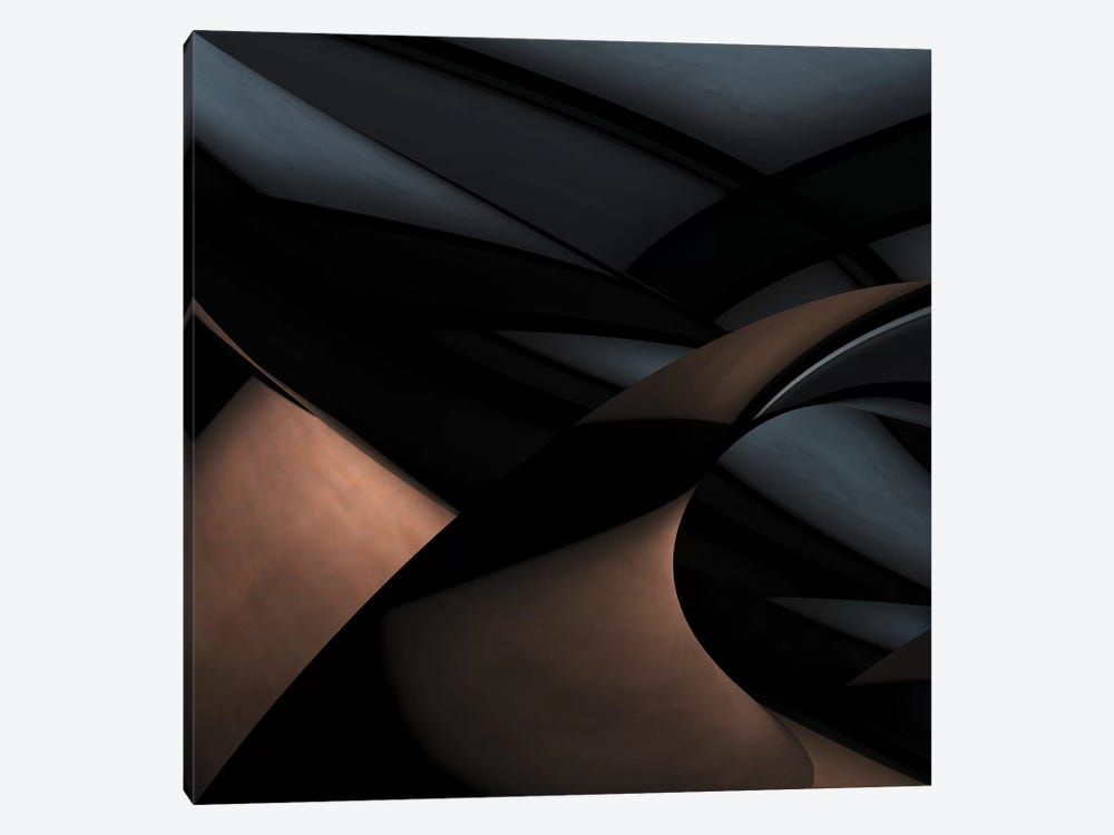 Silver Gold by Gilbert Claes 1-piece Art Print