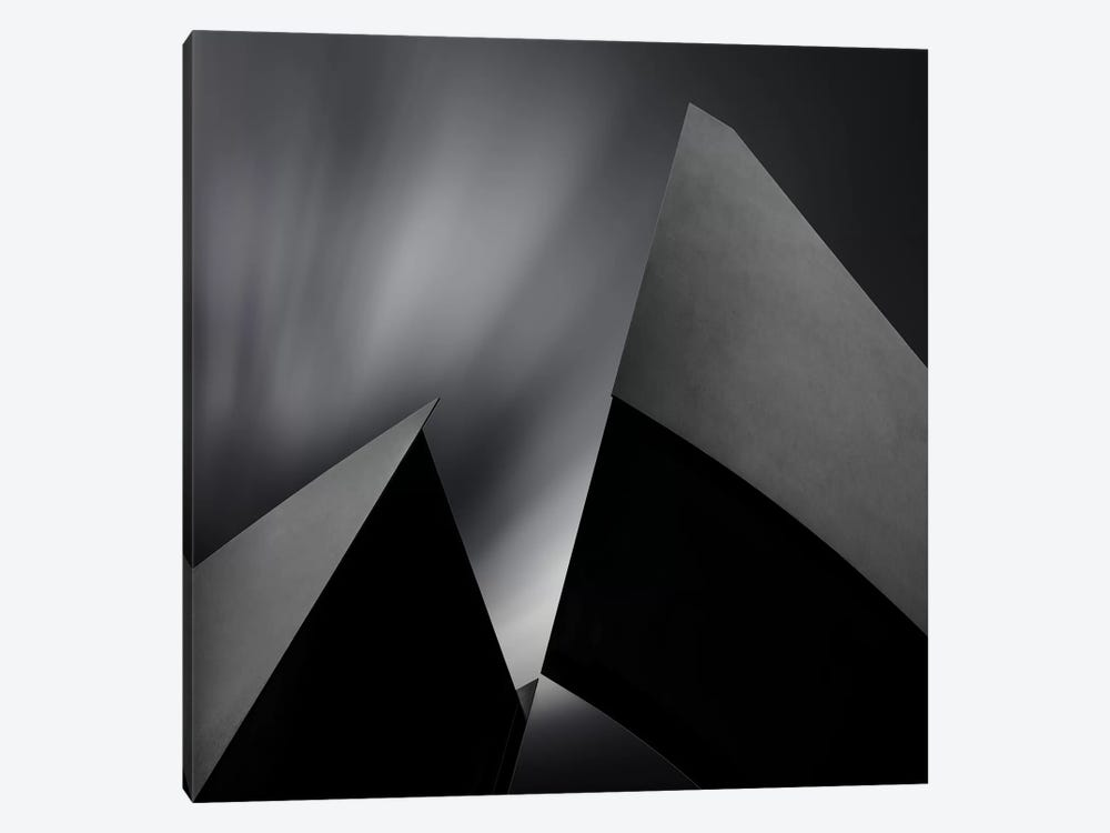 Structura by Gilbert Claes 1-piece Canvas Wall Art