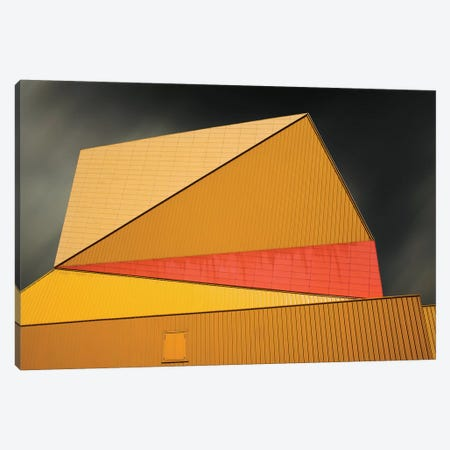 The Yellow Roof Canvas Print #OXM1431} by Gilbert Claes Canvas Print