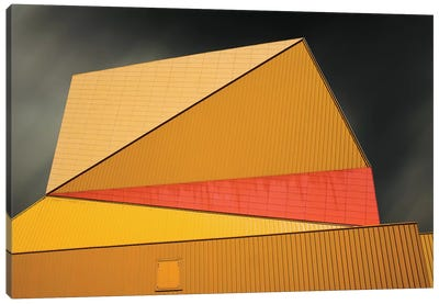 The Yellow Roof Canvas Art Print