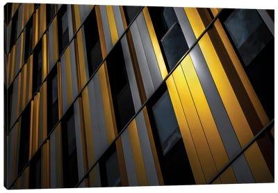 Yellow Wall Canvas Art Print