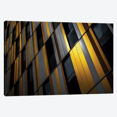 Yellow Wall Canvas Print #OXM1437} by Gilbert Claes Canvas Wall Art